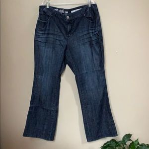 DKNY Soho boot cut jeans SZ 22